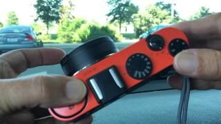 видео Фотоаппарат компактный премиум Leica X2 Black