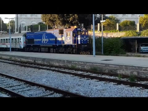 Traveling by Diesel train on relation Split-Perković-Split//Put vlakom Split-Perković-Split