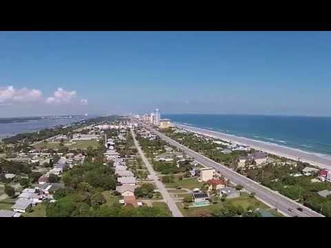 Daytona Beach Shores Aerial Video