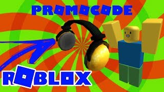 HOW TO GET SOME GOLD HEADPHONES!!? -PROMOCODE ROBLOX