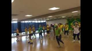 ACM Alphaville aula ritmos brasileiros prévia da Copa 2014 11/06