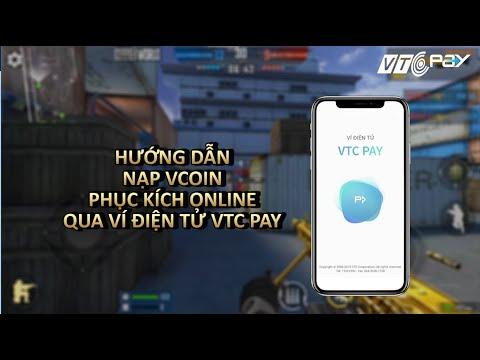 Hướng dẫn nạp Vcoin Phục Kích cho các game thủ VTC Game