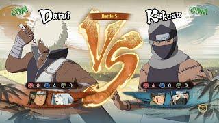 Naruto Shippuden Ultimate Ninja Storm 4, DaruiHashiramaKaguya VS KakuzuKibaKakashi!