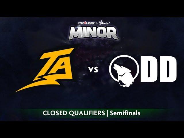 Thunder Predator vs Team Odd Game 1 - StarLadder ImbaTV SA Qualifier: Semifinals