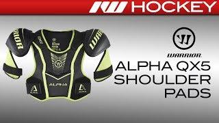 Warrior Alpha QX5 Shoulder Pad Review