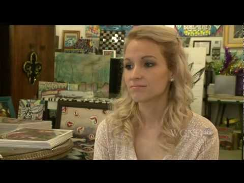 Ally Burguieres Designs Official NFL Beads with Courtyard by Marriott for SuperBowl - WGNO