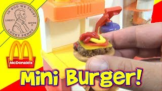McDonald's Happy Meal Magic 1993 Hamburger Maker Set - Making Hamburgers! thumbnail