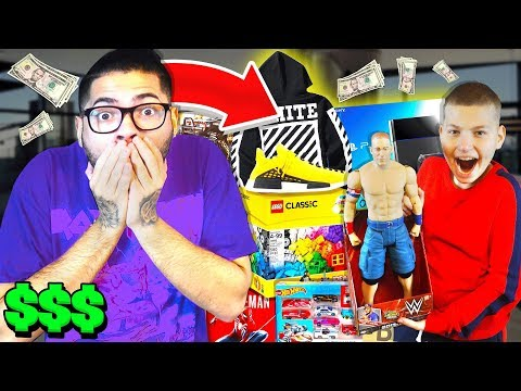 """Buy ANYTHING You Want"" For 24 Hours For JAYDEN PART 2!! - **No Budget Challenge**"