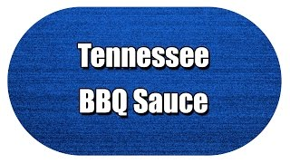 Tennessee Bbq Sauce - My3 Foods - Easy To Learn