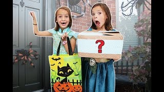 TRICK or TREATing Early! No one HAS CANDY only BOXES!!!