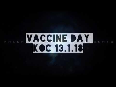 VACCINE DAY 13.01.2018 KOC Hospital