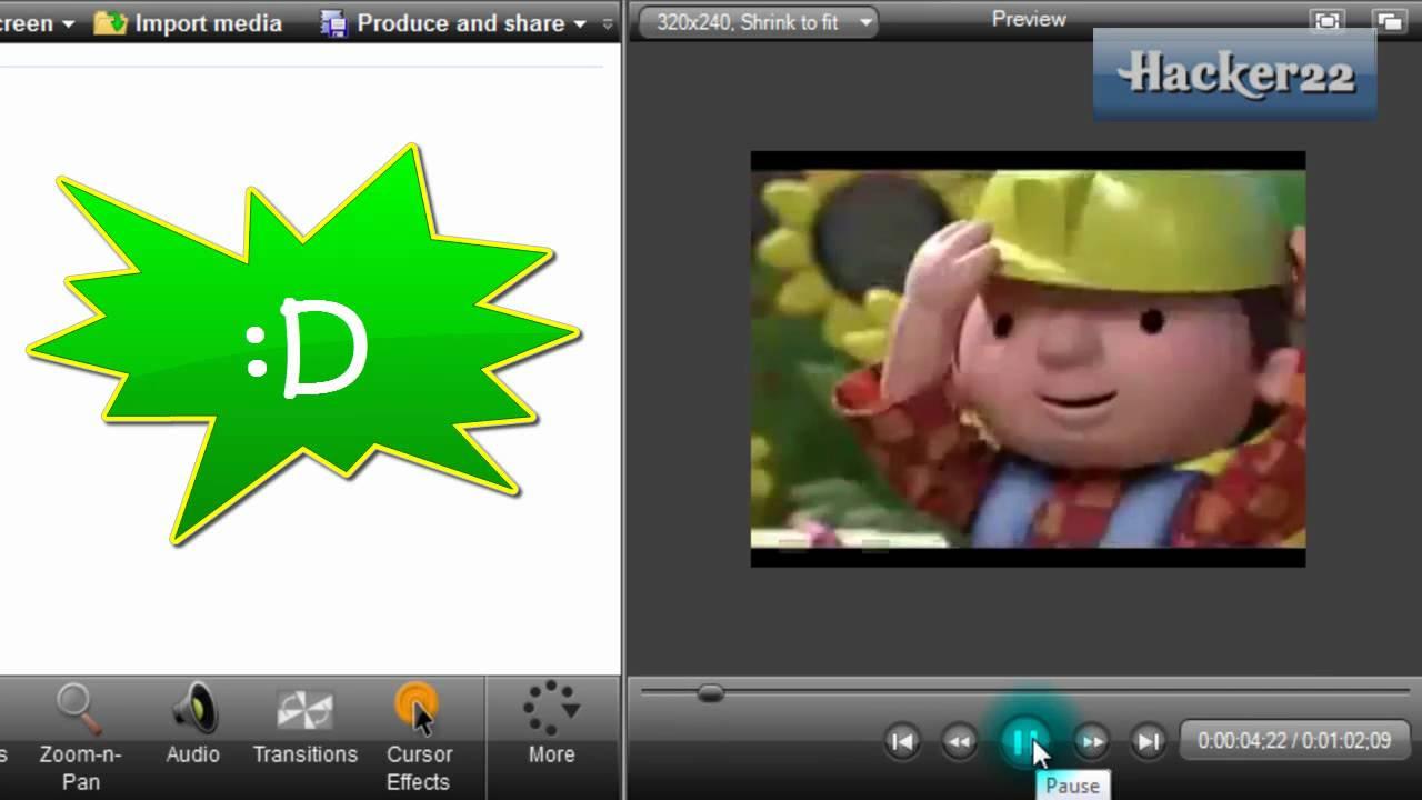 Como Acelerar o Disminuir Velocidad de un Video con Camtasia Studio ...