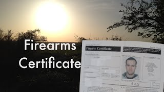 The UK Firearms Certificate Explained