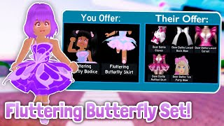 What People TRADE For FLUTTERING BUTTERFLY SET!