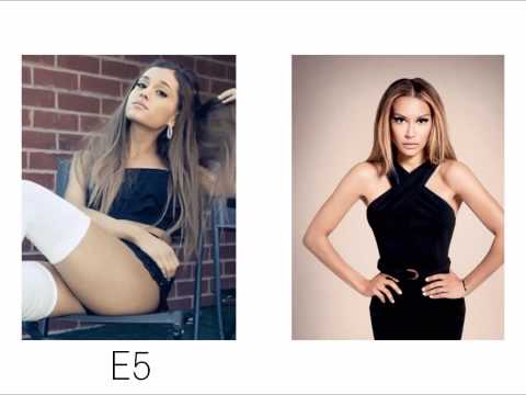 Ariana Grande vs. Naya Rivera Vocal Battle: E♭3-B5