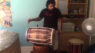 Brown Rang - Dhol Cover