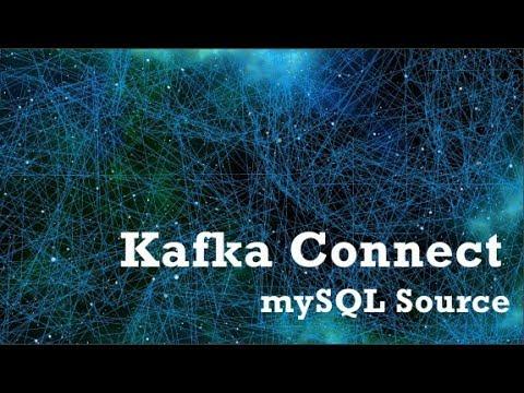 Kafka Connect mysql source example