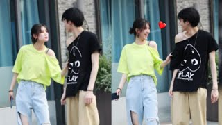 ▶Đại Thí Thí & Hạ Duệ Hàm#4-The most famous couple on the street❤Tiktok Trung Quốc