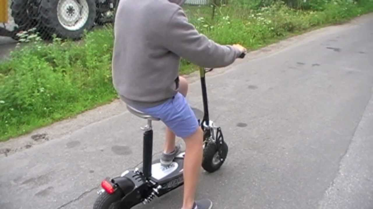 Worlds Best Scooter 1000w 36v Youtube