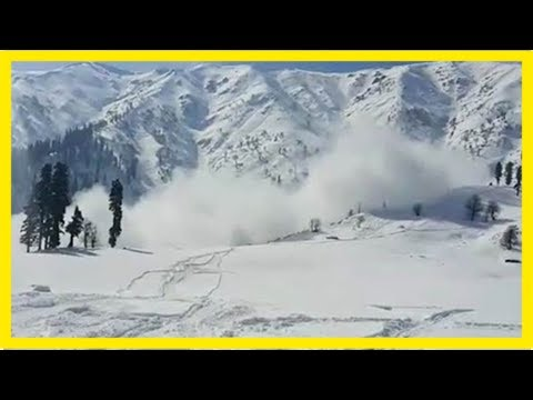 5 soldiers missing after avalanche in jammu and kashmir's bandipora, nowgam
