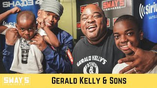 Comedian Gerald Kelly and Sons Trade Jokes, Talk Comedy Tour and Feeding The Homeless