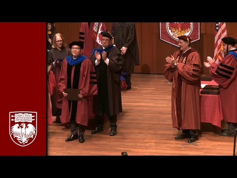 Physical Sciences Division Diploma and Hooding Ceremony, Spring 2016