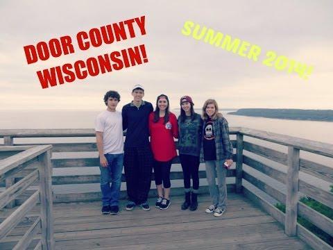 My Camping trip to Door County Wisconsin: Summer 2014 | Makeupkatie95 Vlogs