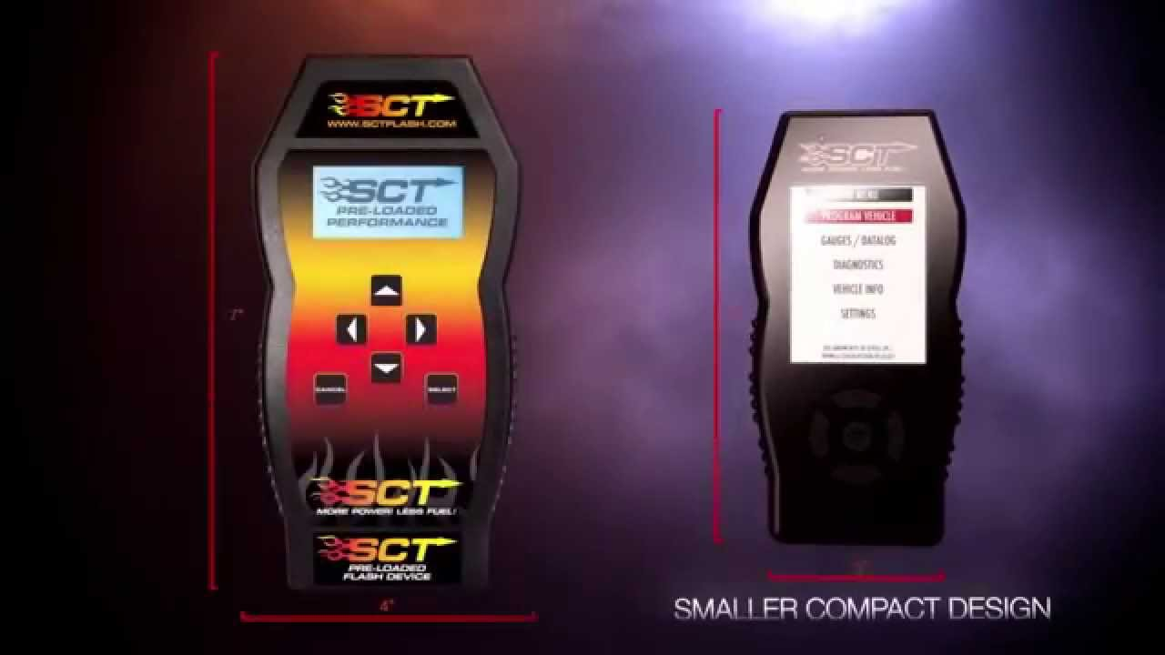 SCT X4 Power Flash Programmer 1994-2018 Ford Vehicles