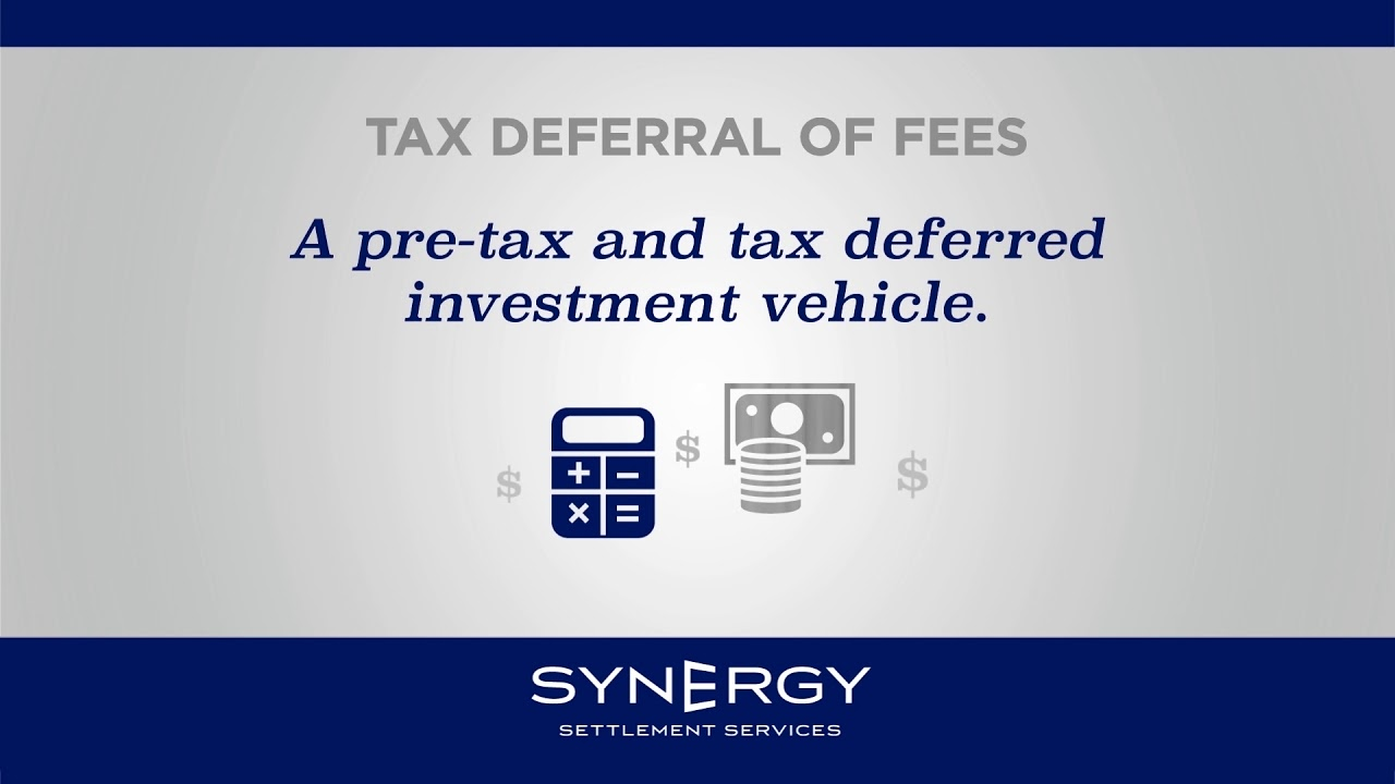 Attorney Fee Deferral – Synergy Settlements
