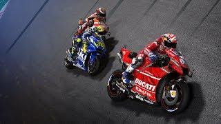 MotoGP 19 Gameplay PC - Lorenzo at Qatar - Epic Last Lap With Dovi (MotoGP 2019 Game)