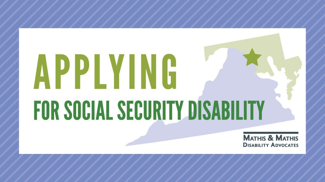 Applying for Social Security Disability in Washington DC