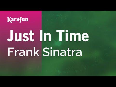 Karaoke Just In Time - Frank Sinatra *