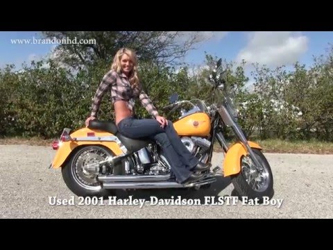 craigslist used harley motorcycles davidson fat boy 2001
