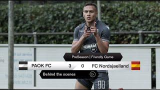 Η παρακάμερα του ΠΑΟΚ-FC Nordsjaelland - PAOK TV