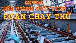 Metro số 1- Tiến độ ga Bình Thái - Depot Long Bình. Lý do chọn đoạn trên cao này chạy thử đầu tiên
