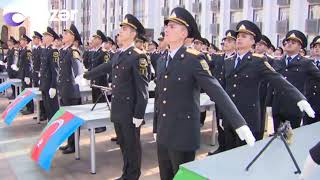 Polis Akademiyasında andiçmə mərasimi keçirildi