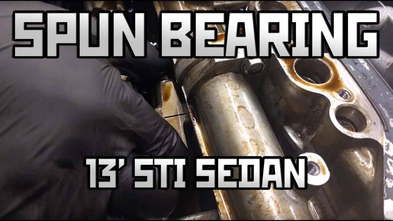2013 Subaru STi Spun Rod Bearing - Touge Tuning