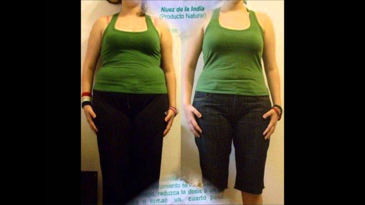 Nuez dela india para bajar de peso antes y despues de bajar