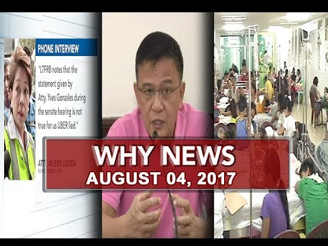 UNTV: Why News (August 04, 2017)
