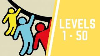 Rope Rescue! Game Level 1-50 Walkthrough