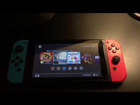 Nintendo Switch Clicking on Serial Number?