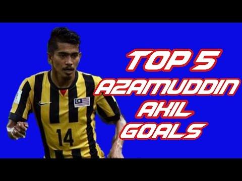 Top 5 Azamuddin Akil Goals