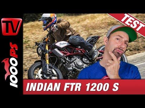 Indian FTR 1200 S 2019 - Flat Tracker für die Strasse? Test, Preise, Fazit