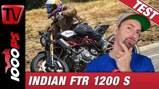 Indian FTR 1200 S 2019 - Flat Tracker für die Straße? Test, Preise, Fazit
