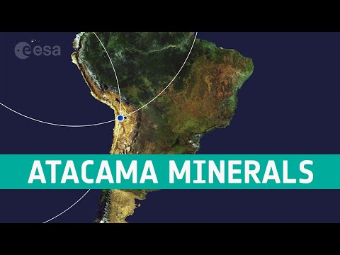 Earth from Space: Atacama minerals