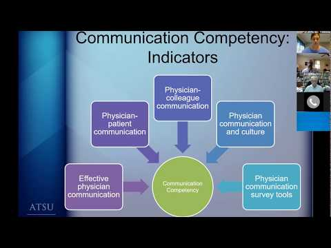 Hospitalist CE, communication competency, and stroke outcome