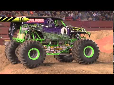 Grave Digger Freestyle Monster Jam World Finals Xiv Youtube