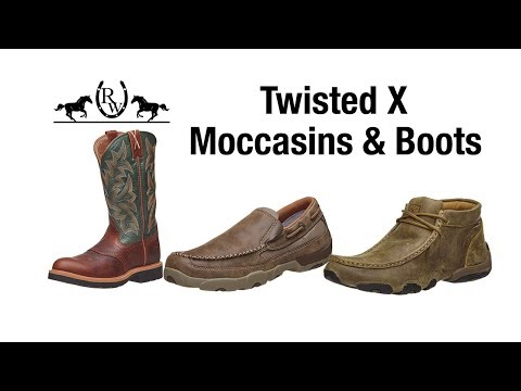 Twisted X Moccasins & Boots