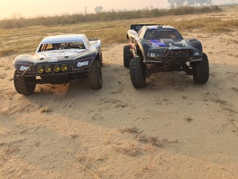 RC ADVENTURES - Losi Five-T Vs Hpi Baja 5T
