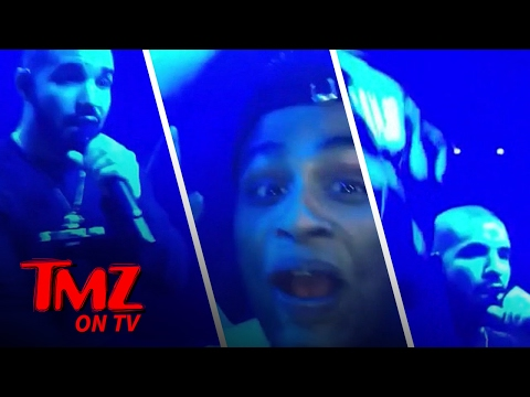 Drake Makes A Fans Night With The Help Of Odell Beckham Jr. | TMZ TV